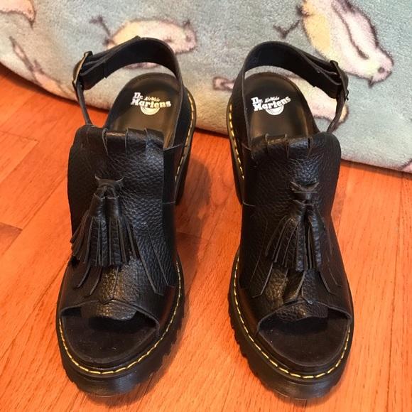 1205027be94 Dr. Martens Shoes - Dr. Martin Seraphina Kiltie slingbacks